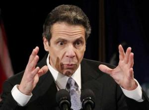 Cuomo's got a fish story for you...and I have a bridge to sell you.
