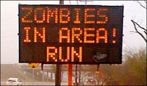 zombies ahead run