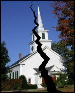 Church. Broken and Split.