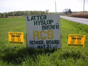 Truth Flanked by Lies! Truth is: Latter-Hyslop-Brown are ONE ITEM. Lie is: Latter Opposed the 2% levy and wanted the 3.5% levy!
