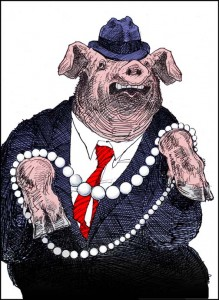 RCS Hands the Pearls Over to the Swine