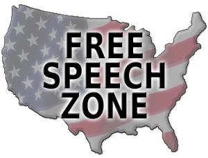 ,big>Public Places and Public Meetings Are Free Speech Zones
