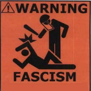 One Party? One Media Informing Citizens? Fixed Elections? = FASCISM The Nazis in Town Hall