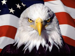 Be An American Patriot Eagle Starting with Ravena