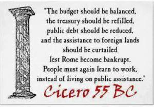 cicero on the budget