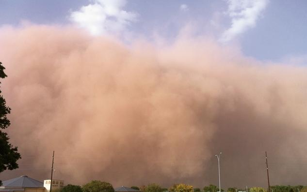dust cloud coeymans