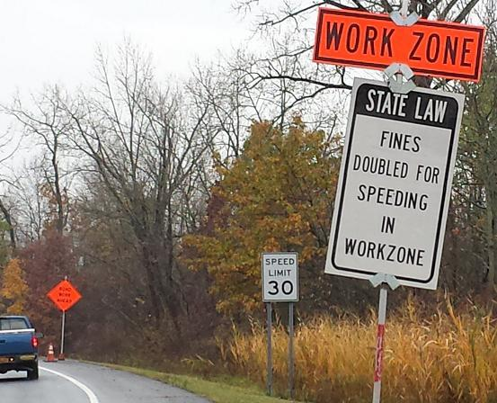 Are these signs and the threat of double fines unlawful, even illegal?