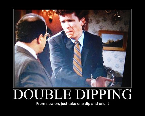 double dipping poster